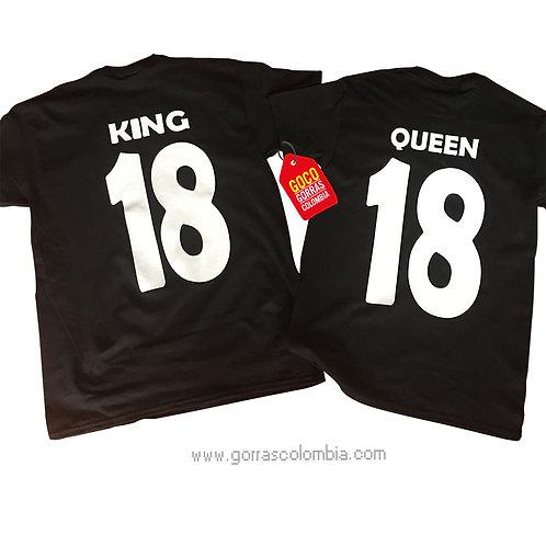 KING Y QUEEN (NUMERO)