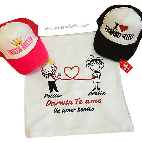 camisetas y gorras papa pareja de medico
