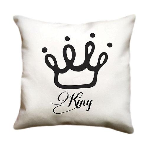 cojin blanco personalizado king