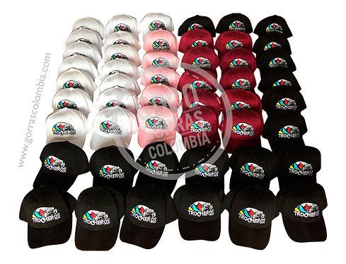 gorras varias para fiesta evento empresarial