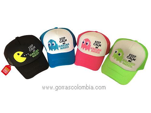 gorras varias frente blanco para amigas keep calm