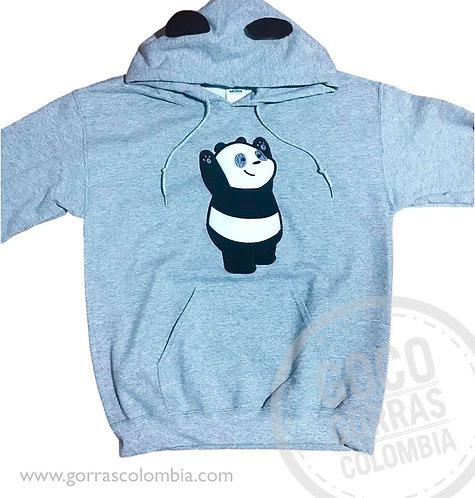 buso gris para nino panda osos escandalosos