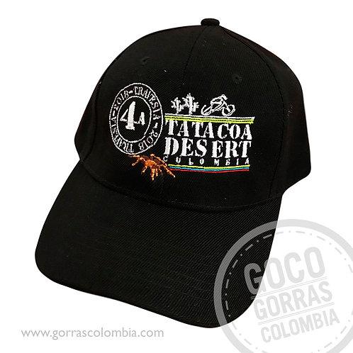 gorra negra unicolor personalizada tatacoa desert colombia