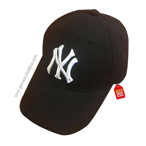 gorra negra unicolor personalizada yankees