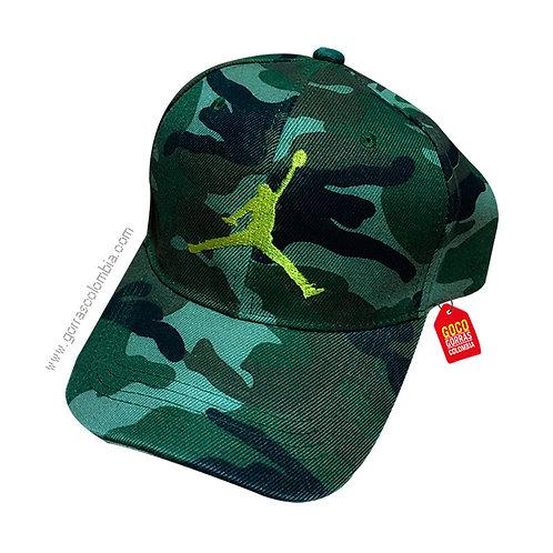 gorra militar unicolor personalizada nba
