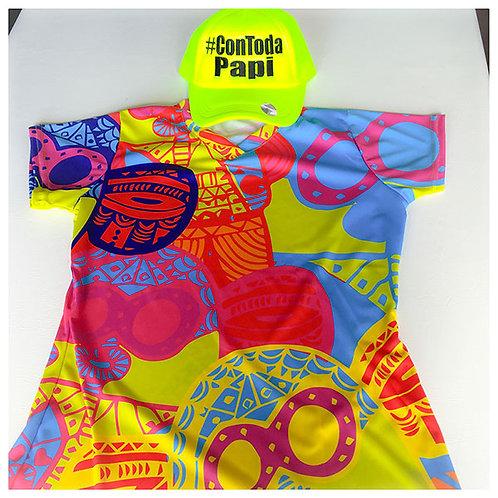 camiseta carnaval de barranquilla marimonda