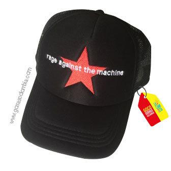 gorra negra unicolor personalizada the machine