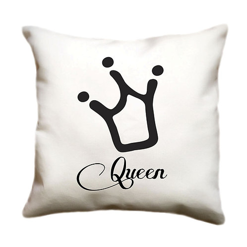 cojin blanco personalizado queen