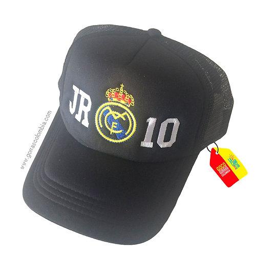 gorra negra unicolor para niño real madrid