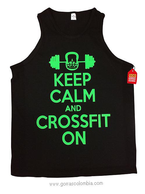 camiseta negra personalizada crossfit on