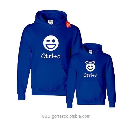 busos azules con capota para familia ctrl+c y ctrl+v