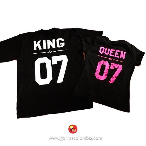 KING Y QUEEN (NÚMERO)