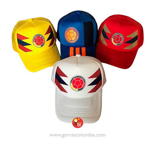 gorras varias unicolor personalizadas seleccion colombia