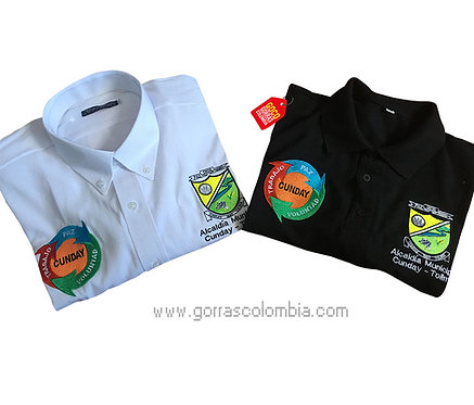 camisetas blanca y negra personalizadas logos de empresa