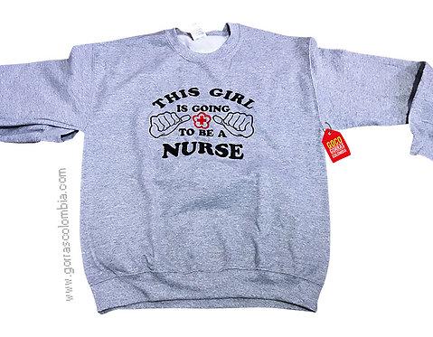 buso gris personalizado nurse