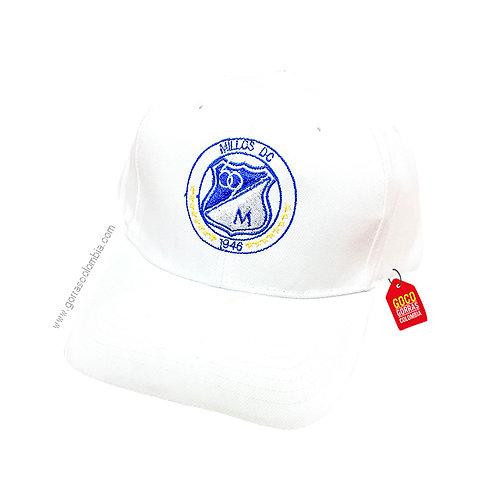 gorra blanca unicolor personalizada millos