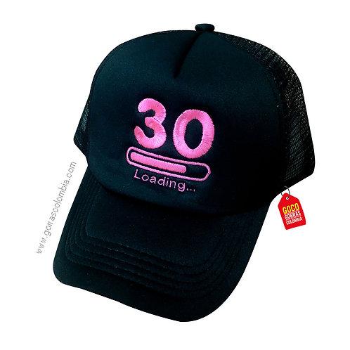 gorra negra unicolor personalizada loading