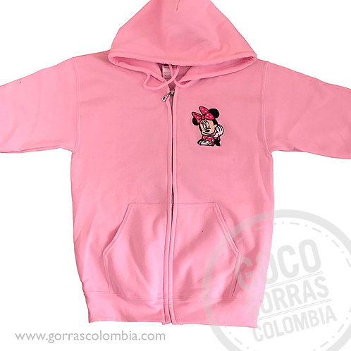 buso rosado personalizado minnie