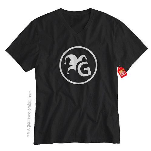 camiseta negra de superheroes guason