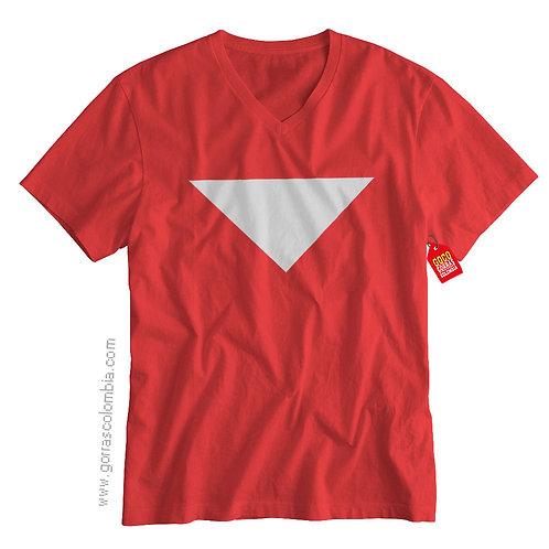 camiseta roja de superheroes tom strong
