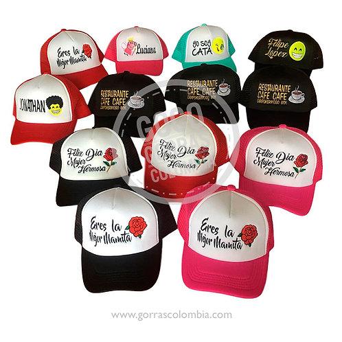 gorras varias para fiesta eventos