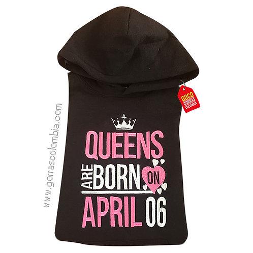 buso negro con capota personalizado queens
