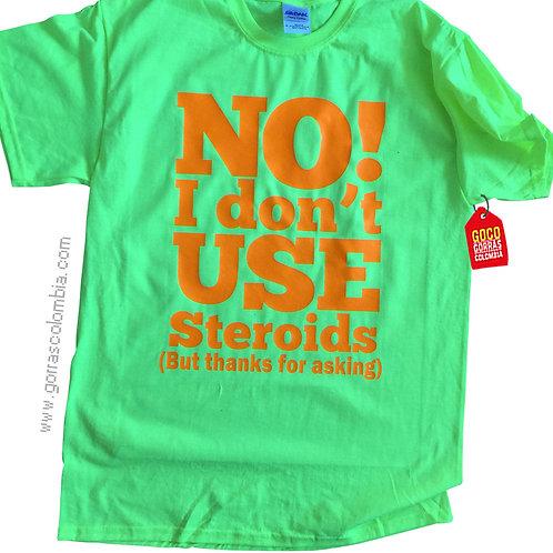 camiseta verde personalizada no