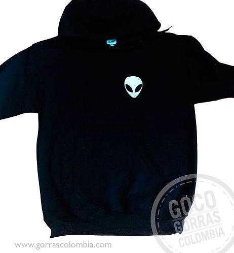 buso azul oscuro personalizado alien