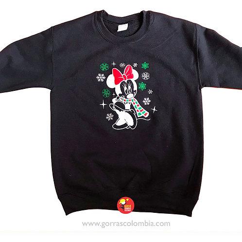 buso negro sin capota personalizado minnie navidad
