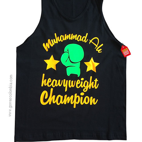 camiseta negra personalizada champion