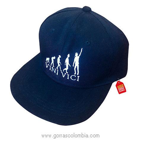 gorra negra unicolor personalizada vini vici