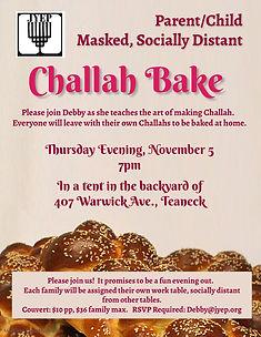 Copy of Grand Challah Bake Flyer - Made