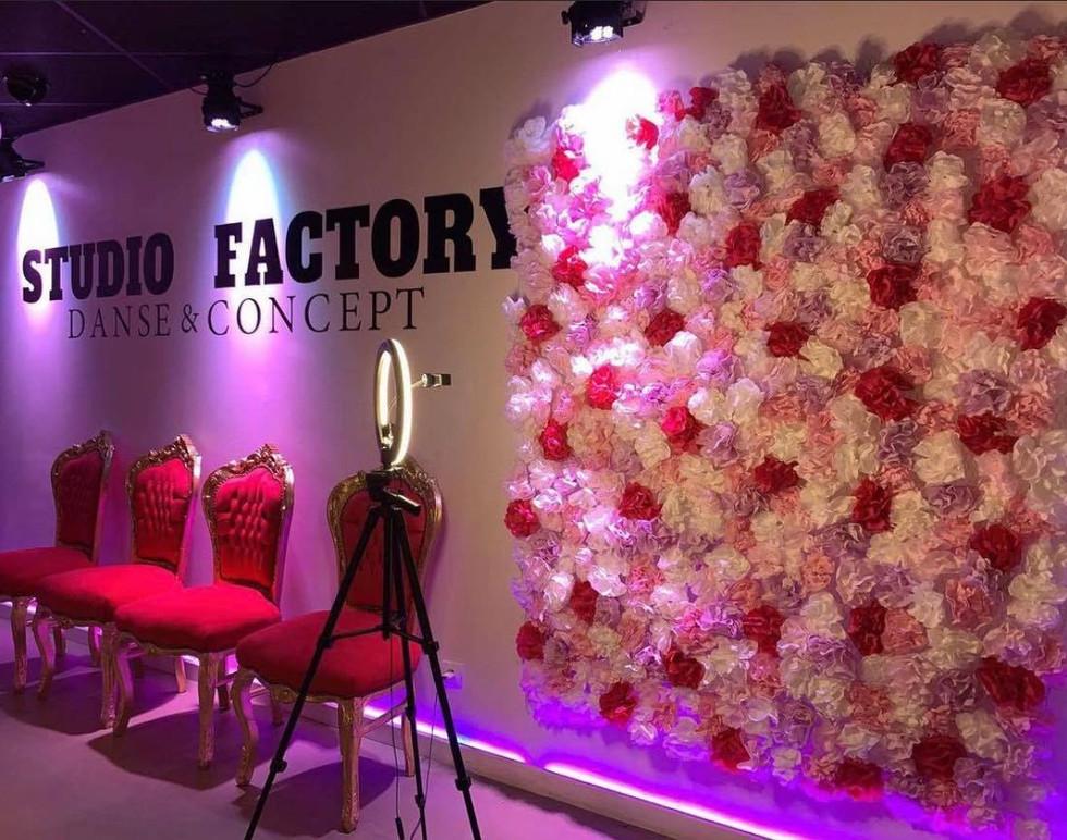 déco mur floral mc event