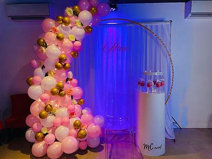 Arche de ballons Mc Event 83