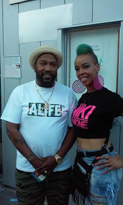 One half of the southern rap duo UGK (UnderGround Kingz) Bun B!!!