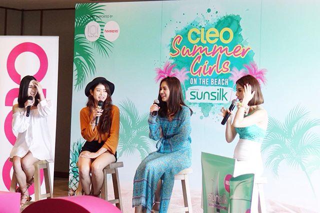 One day mentor 😂😂😂🌊#cleosummergirls #Sunsilkhealthierandlong