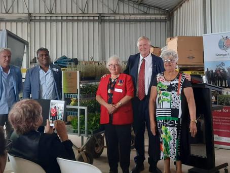 Noongar Land Enterprise Group Opens New Native Plant Nursery