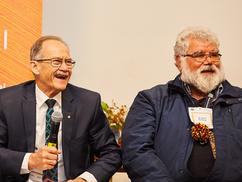 'The Science of Spirituality' Keynote with Dr Noel Nannup alongside Prof Peter Klinken