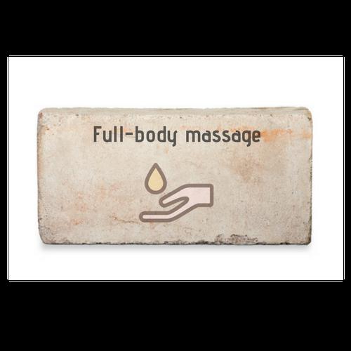 I'd like a full-body massage
