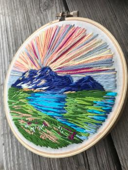 Yarn Landscape // Anna Ricks — Textiles
