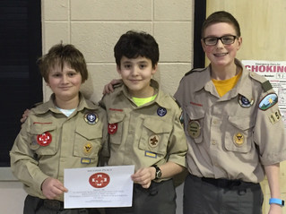 Troop 150 Places 2nd at First Aid Meet