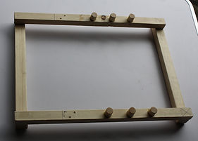 Base sub assembly of the table easel.
