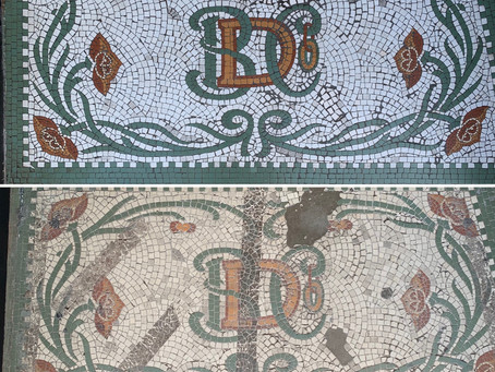 Mosaic conservation and repair