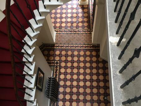 Restoration, clean and repair of Victorian tiles