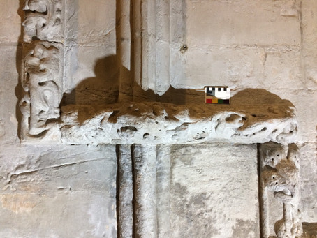 Conservation repair of medieval carvings & Rosslyn