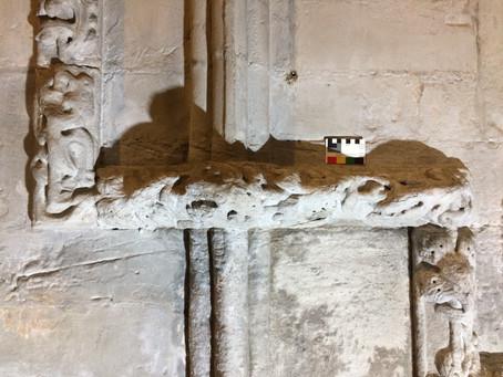 Conservation repair of medieval carvings & Rosslyn