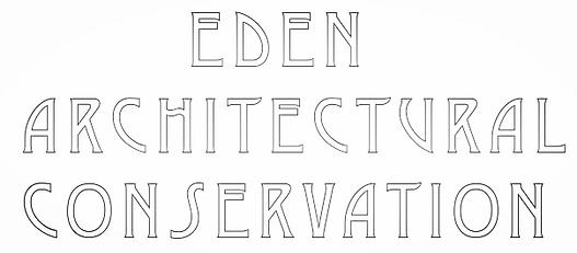 Eden architectural conservation logo