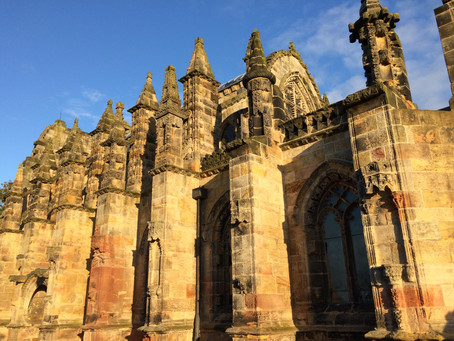 Rosslyn Chapel & William the Cat