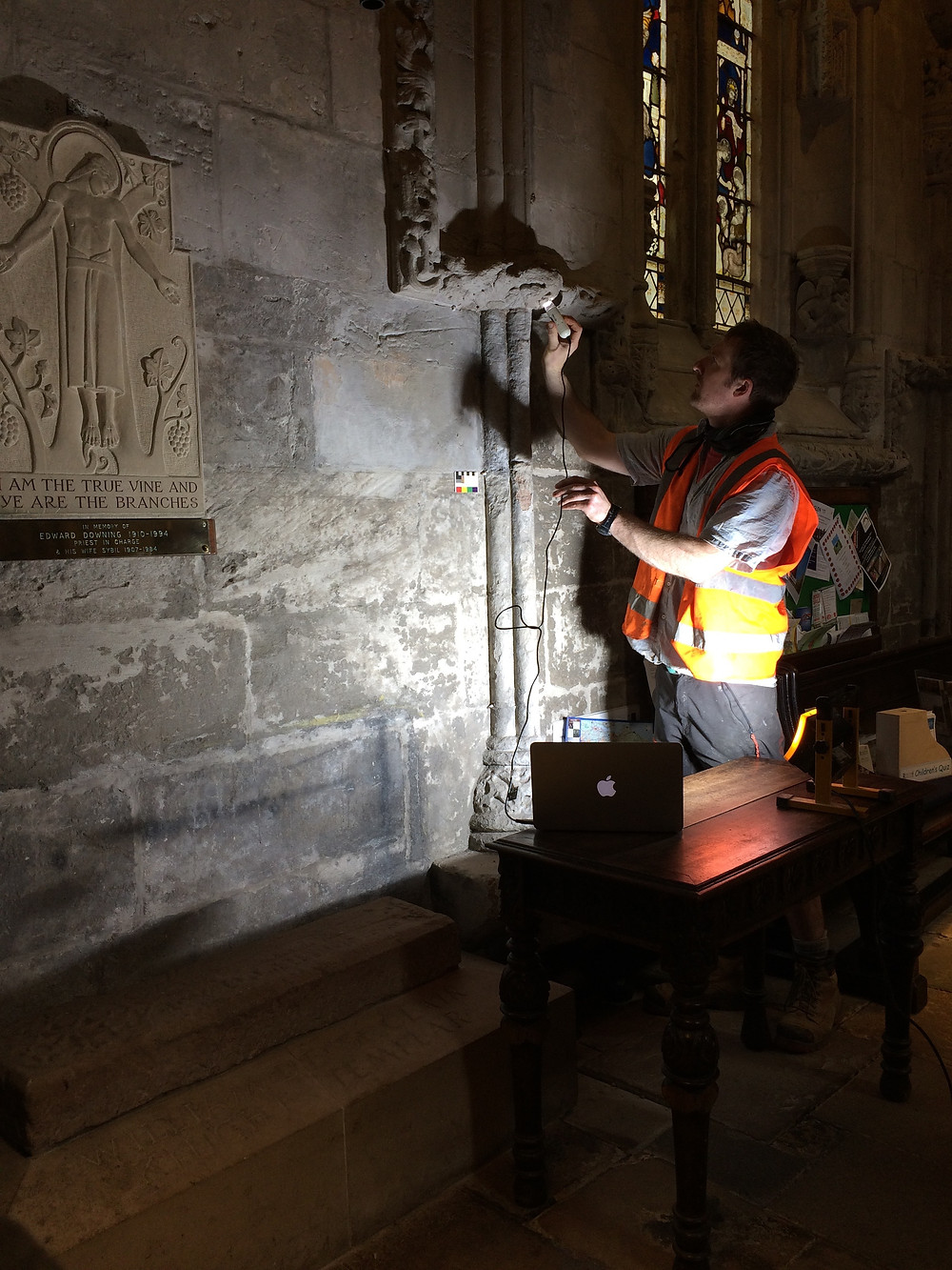 conservation of medieval carving