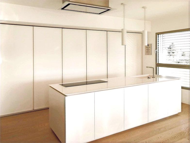 cucina di una villa moderna